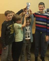 Naši učenci so regijski prvaki v šahu – ekipno do 15 let